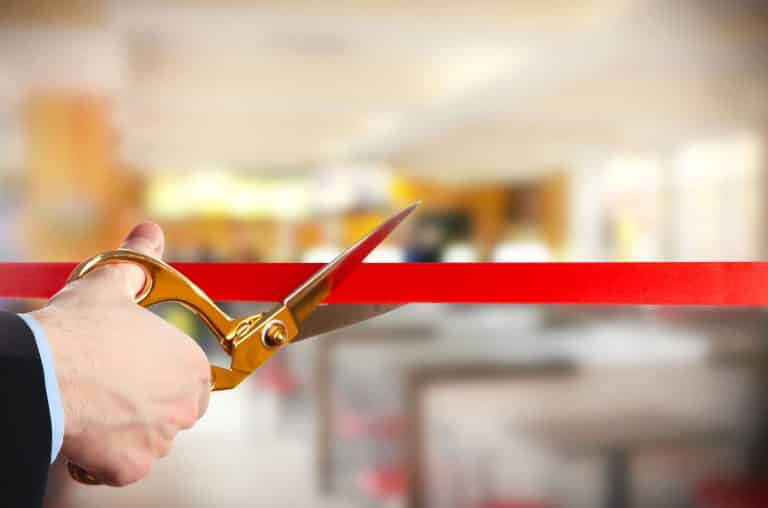 Planning a Grand Opening Celebration or Ribbon Cutting