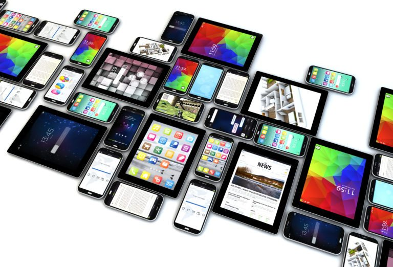 tablets and smart phones for responsive design